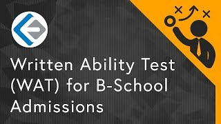 Written Ability Test (WAT) is an assessment method adopted by few o...
