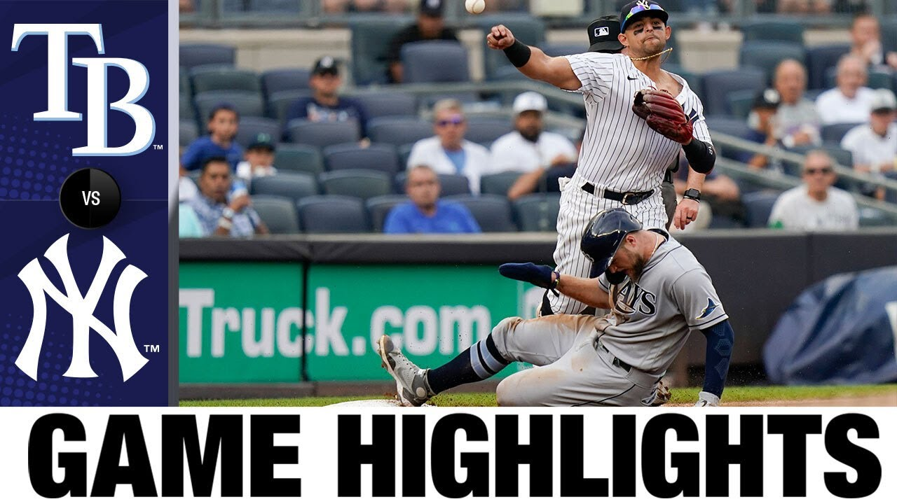 Download Rays vs. Yankees Game Highlights (10/3/21)   MLB Highlights