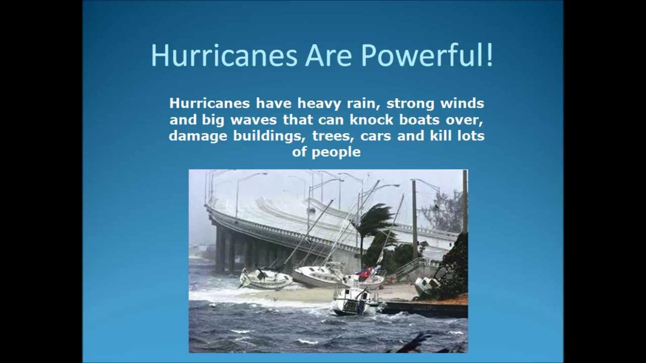 Hurricane Facts For Kids Video - YouTube