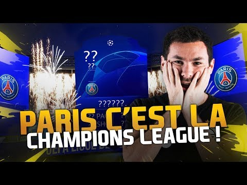 PACK OPENING - PARIS C'EST LA CHAMPIONS LEAGUE !