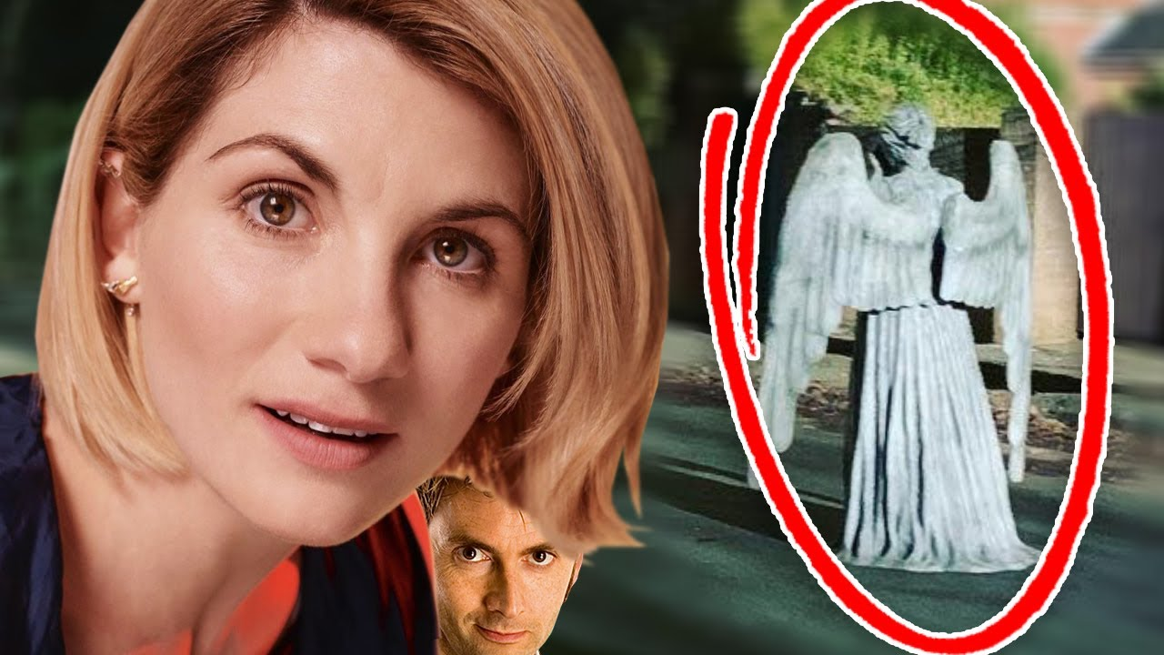 Doctor Who Series 13 Filming With The Weeping Angels Classic Monster Return - Bigger On The Inside - YouTube