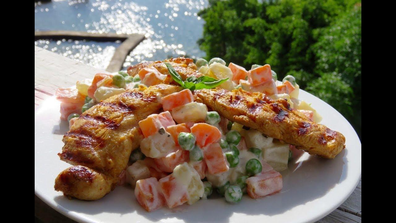 recipe: ensalada rusa con pollo al horno [37]