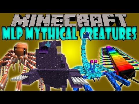 MLP MYTHICAL CREATURES MOD - BOSSES GIGANTESCOS Y FUERTES - Minecraft Mod 1.6.4 Review ESPAÑOL