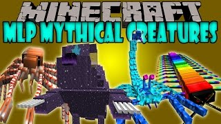 MLP MYTHICAL CREATURES MOD - BOSSES GIGANTESCOS Y FUERTES - Minecraft Mod 1.6.4 Review ESPAÑOL