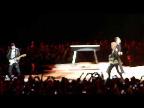 U2 performs Sunday Bloody Sunday Tues 9-12-17 Arrowhead Stadium Kansas City MO
