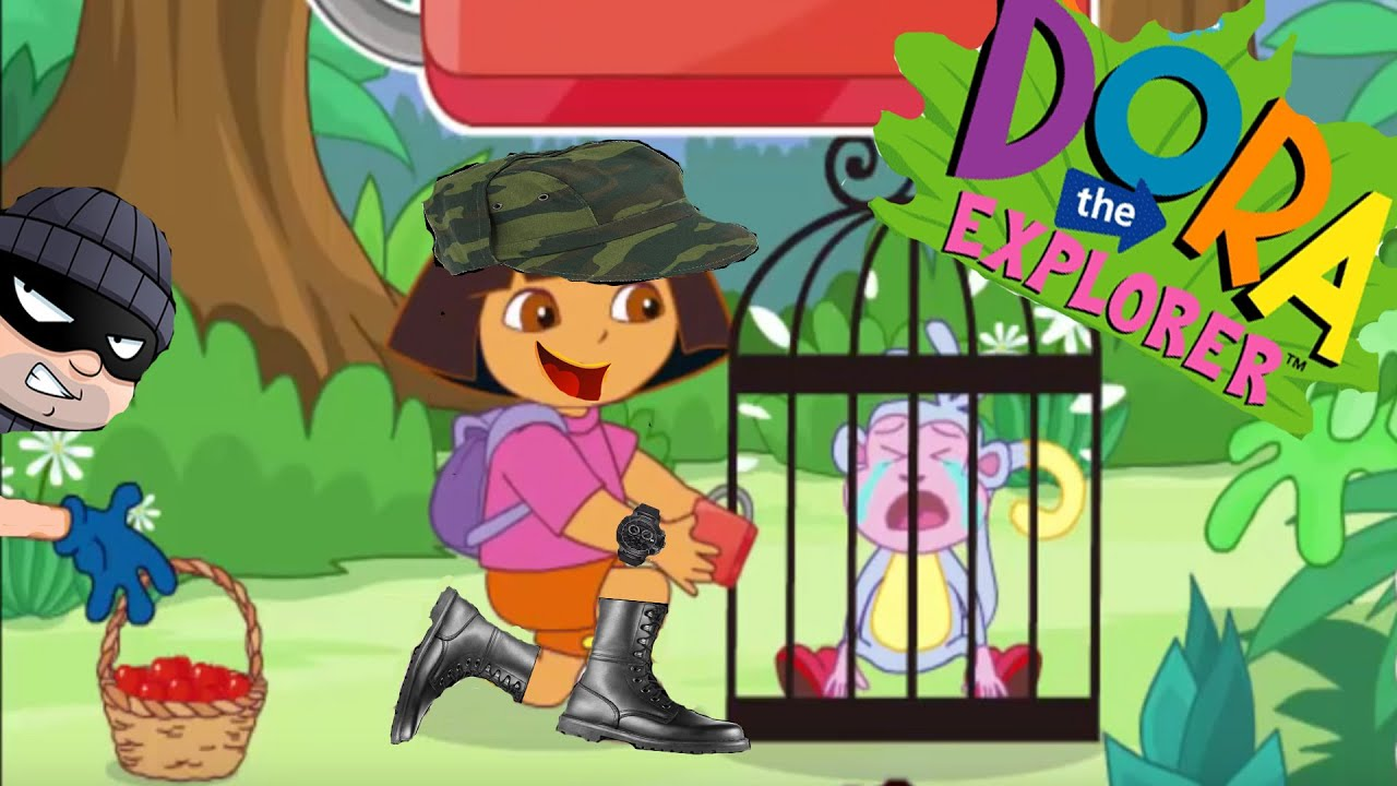 Dora The Explorer Game Movie Dora And Mermaid Birthday