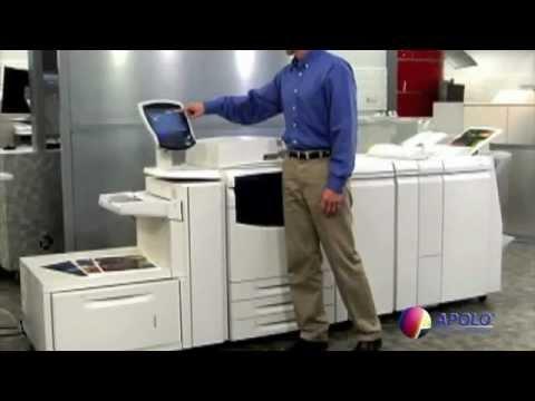 Rebuilt Xerox 700i Digital Color Press With Square Fold