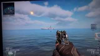 Black Ops 2 - HIJACKED on COVE Connected GOOGLE MAPS Easter Egg
