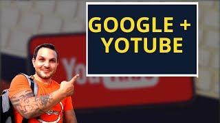 😳Как связать аккаунт Google + страницу с YouTube Каналом
