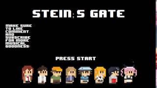 Steins;Gate Opening - Hacking to the Gate 8-bit NES Remix and 16-bit SNES Remix