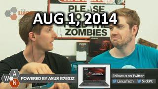 The WAN Show: Unlocking Phones Legal Again! Also GTX 880 & 980 Rumours! - August 1st, 2014