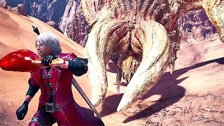 Monster Hunter: World - Devil May Cry Gameplay Trailer