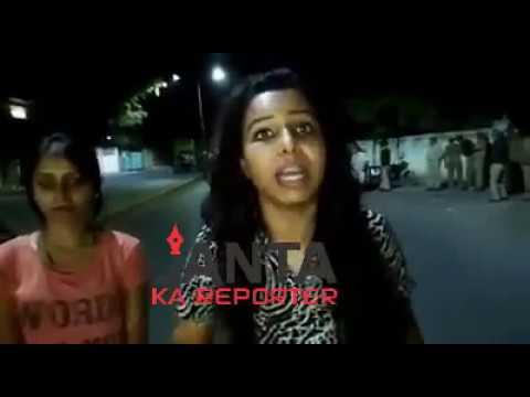 Mayhem at Gujarat Police Station, girls allege assault by cops. Police deny allegations