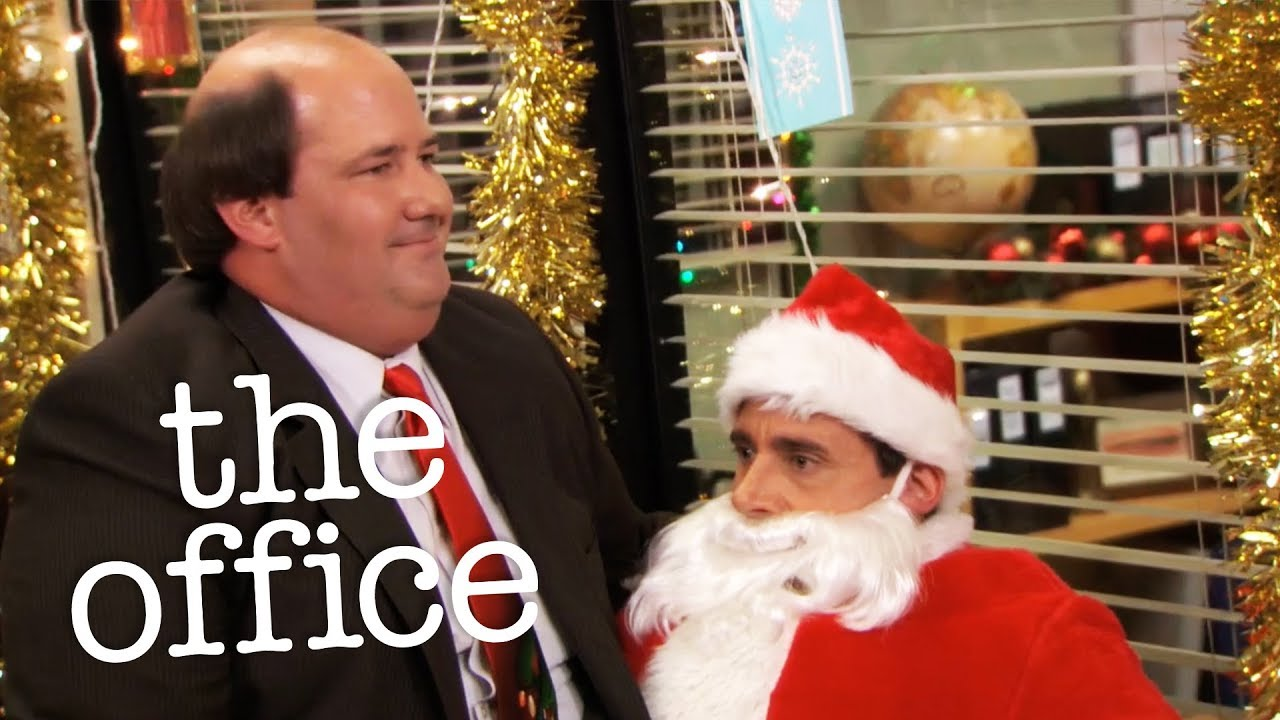 Kevin Sits On Michael - The Office US - YouTube