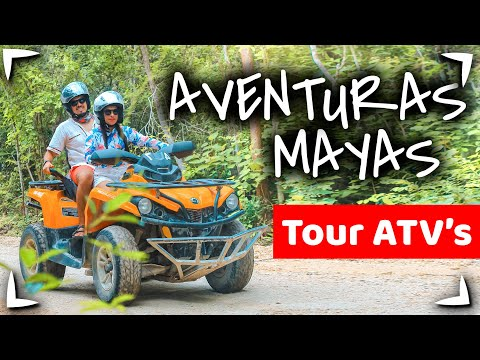 AVENTURAS MAYAS Tour 🔴 Riviera Maya ATV & TIROLESAS Cancun ✅ Mayan Adventures ► QUE INCLUYE, PRECIO