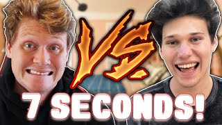 7 SECOND CHALLENGES vs JESSER!