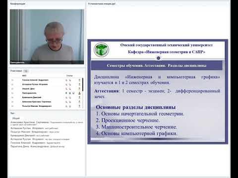 Инженерная и компьютерная графика  Установочная лекция  Иванова Елена Владимировна