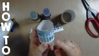 How To Make And Decorate A Tp Glue Gun Holder