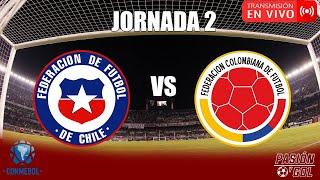 EN VIVO: CHILE VS COLOMBIA| JORNADA 2 ELIMINATORIAS QATAR 2022 (AUDIO)
