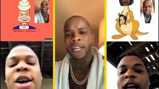 Tory Lanez & Don Q Gets Into It On IG Live!