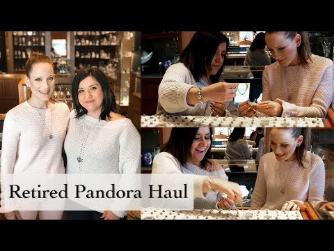 Retired Pandora Haul | Shopping With MyPandoraCharmedLife