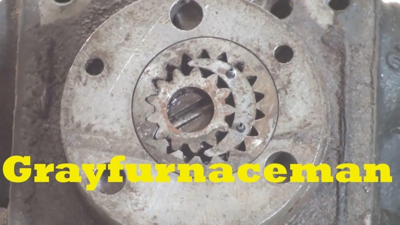 Oil furnace pump autopsy  YouTube