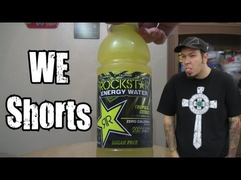 WE Shorts - Rockstar Energy Water Tropical Citrus