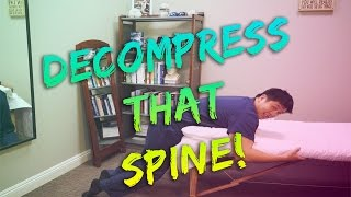 A Simple Exercise | Lower Spine Decompression | Suspended Prone | Lumbar