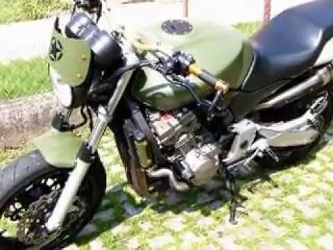 Honda 919 Hornet Special Army Youtube