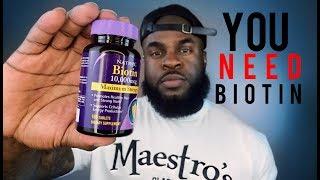 Biotin Results | Biotin Side Effects | Beard Care and Maintenance | Natural Hair & Vitamin B