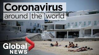 Coronavirus around the world: May 25, 2020