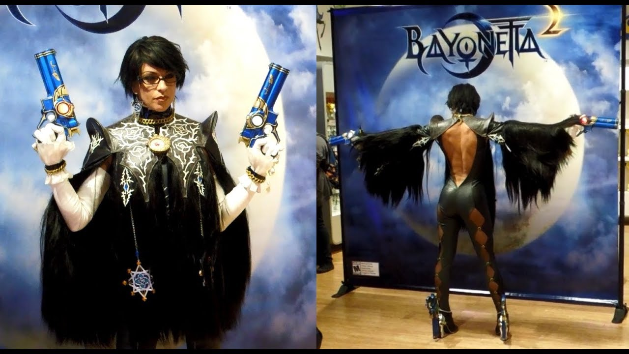 Bayonetta Cosplayer Struts Her Stuff [Nintendo World Memories]