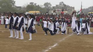 dance performance by aadarsh naveen p m school multai 26 january 2017