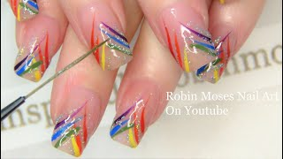 Nail Art in 10 minutes! REAL TIME Tips for painting nails faster! BY REQUEST