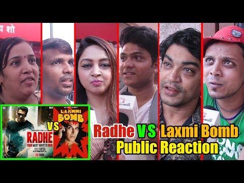 Radhe VS Laxmi Bomb Public Reaction | Salman Khan | Akshay Kumar | #EID2020 Mp3