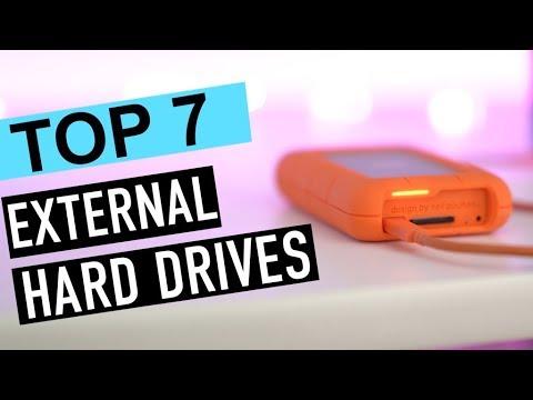BEST 7: External Hard Drives 2018