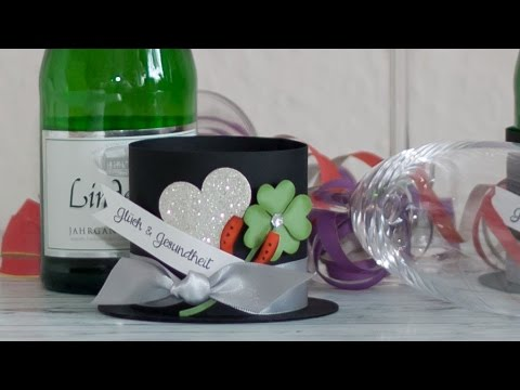 Diy Silvester Tischdekoration Mit Stampin Up Produkten Youtube
