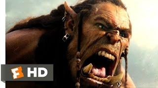 Warcraft   Durotan Challenges Guldan Scene 610  Movieclips