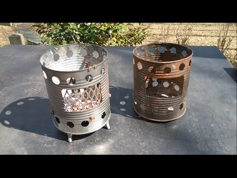 Hobo Stove Build,  The old stove gave its best and Passed The Torch