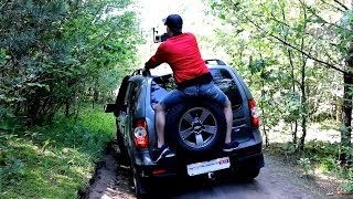 Тест драйв путешествие приключение Автопанорама БЕЛАРУСКАЕЗОЛАТА Chevrolet NIVA Западная Беларусь смотреть