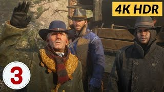 Eastward Bound. Ep.3 - Red Dead Redemption 2 [4K HDR]