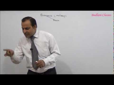 CPT - Macro Economics : Introduction : Lecture 1