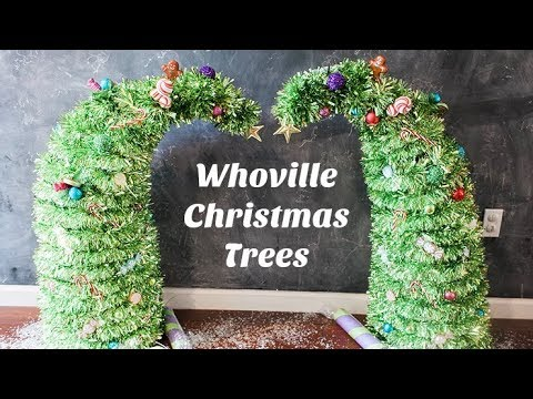 whoville christmas trees grinch christmas trees - Grinch Christmas Tree Decorations