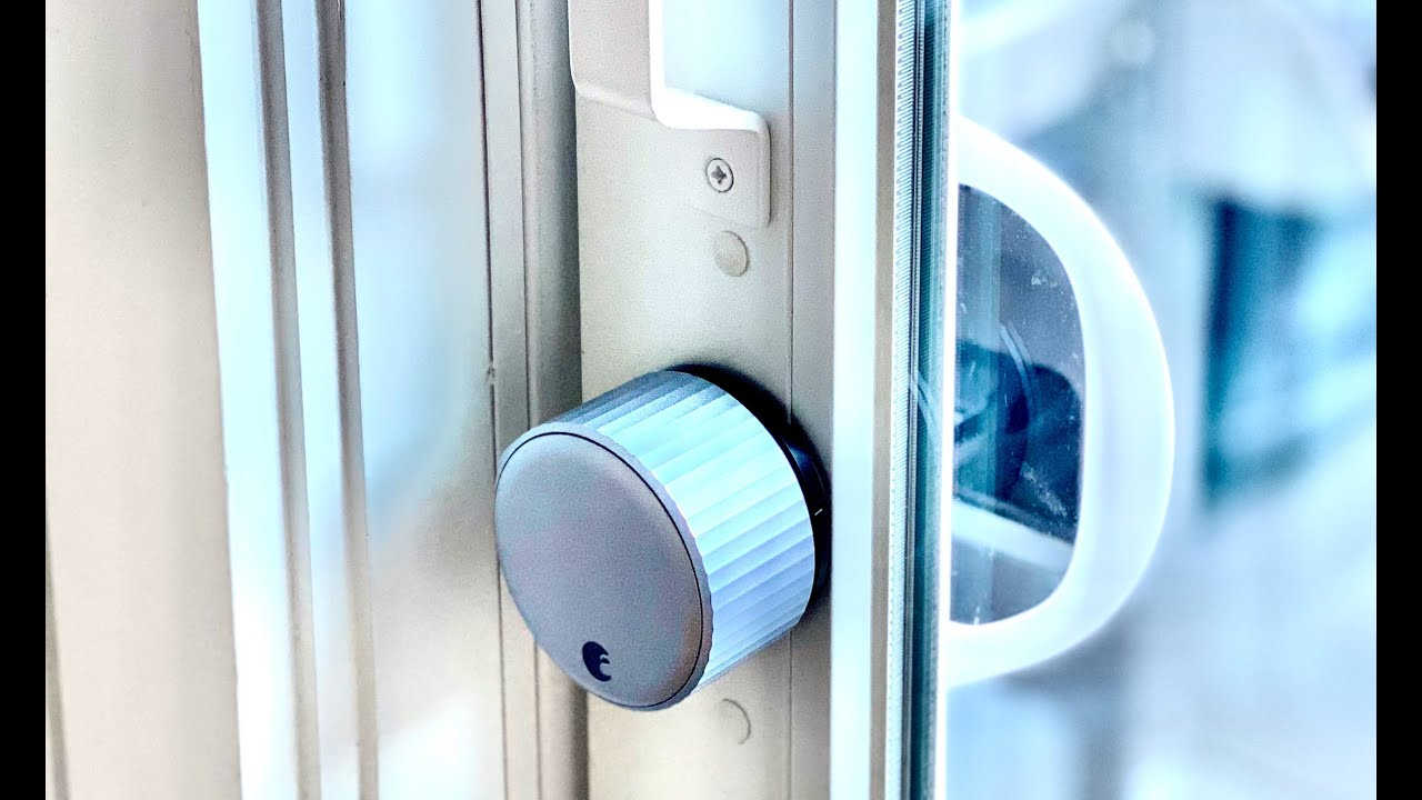 keyless entry to a sliding patio door i hacked an august smart lock to work w a sliding door v2