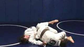Quad Crush from Reverse Knee Guard Pass