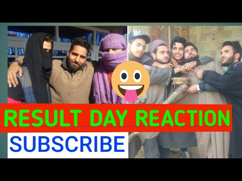 RESULT-DAY REACTIONS FUNNY VIDEO BY REDWANI ROUNDERS