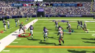 Madden 13 Crew vs Crew (MA vs MM) and gameplay vs RouteCombo