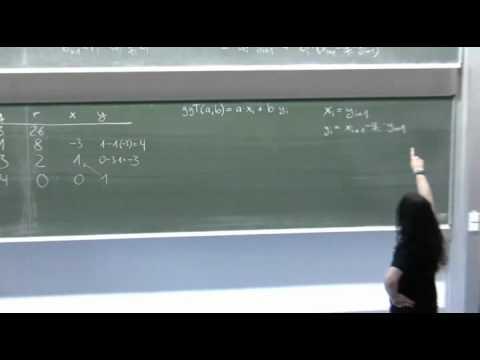 Erweiterter Euklidischer Algorithmus (ggT & Linearkombination) from YouTube · Duration:  6 minutes 16 seconds