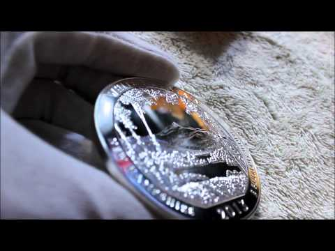 2013 White Mountain National Park 5 Ounce Silver Bullion Coin Unboxing