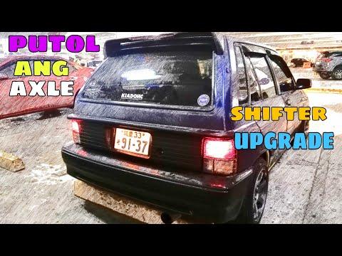 TULFO AXLE NI SUPERKIA2 / SHORT SHIFTER UPGRADE (Ford Festiva/Kia Pride/Mazda 121)